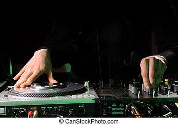 musica, discoteca, dj