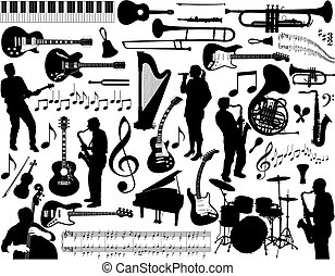 musica, elements.