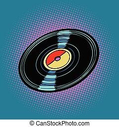 musica, record vinile