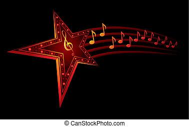 musica, stella