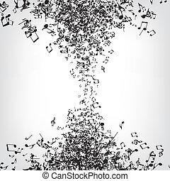 musica, struttura, note