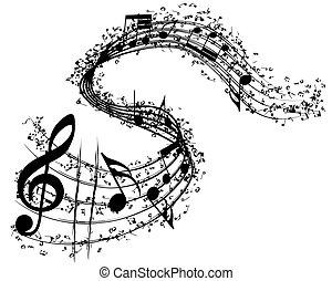 musicale, fondo