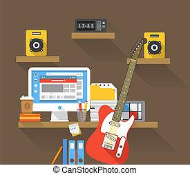 musicant, posto lavora
