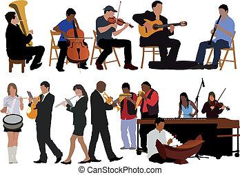 musicisti, collezione