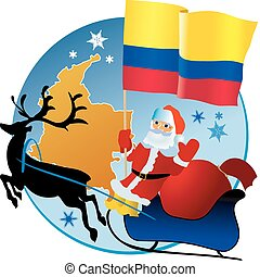 natale, colombia!, allegro