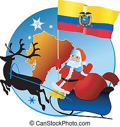 natale, ecuador!, allegro
