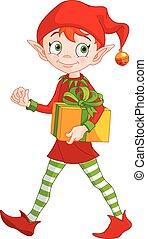 natale, elfo