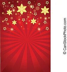 natale, strisce stelle