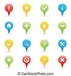navigazione, icone