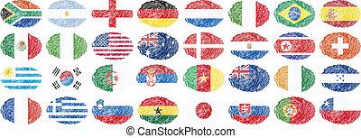 nazionale, bandiere