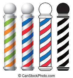negozio, polo, barbiere