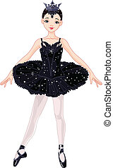 nero, ballerina