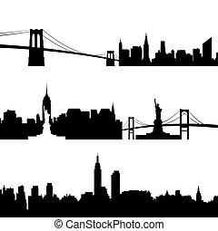 new york, architettura