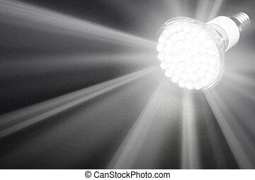newest, luce, condotto, bulbo