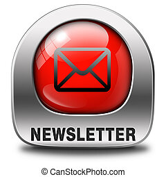 newsletter, icona