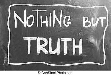 niente, concetto, ma, verità
