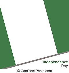 nigeria, giorno, indipendenza