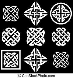 nodi, celtico, collezione