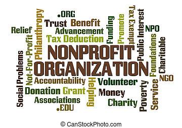 non, profitto, organizzazione