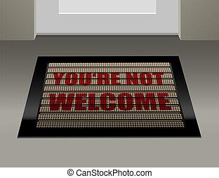 non, zerbino, benvenuto