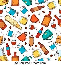 nonalcoholic, bibite, alcool, modello