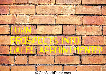 nota, prospettive, customers., affari, foto, esposizione, vendite, scrittura, piombi, turno, appointments., showcasing, convertire