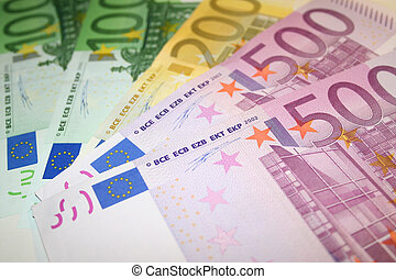 note, euro