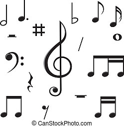 note musica, caos