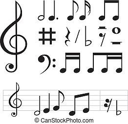 note musica, fondamentale