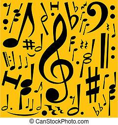 note, musica