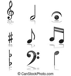 note, musicale