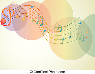 note, musicale, g-clef