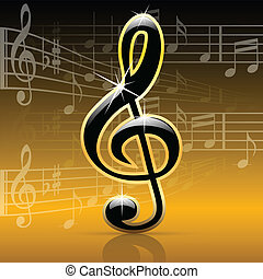 notes-melody, musica