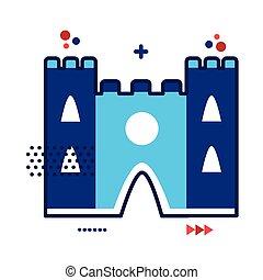 notre, cattedrale, francia, stile, monumento, dama, appartamento