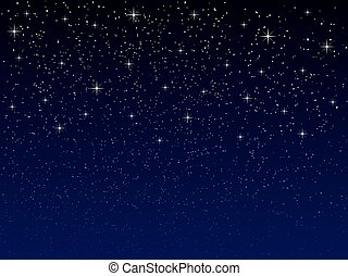 notte, stelle, cielo