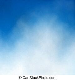 nube cielo blu