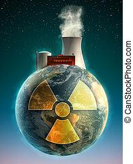 nucleare, terra