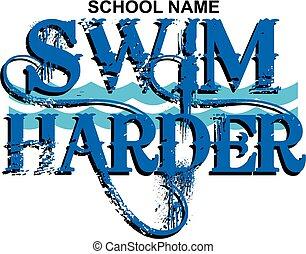 nuotare, harder