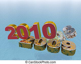 nuovo, concetto, -, 2010, anno