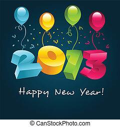 nuovo, felice, 2013, anno