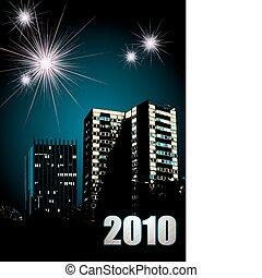 nuovo, fireworks, 2010, anno