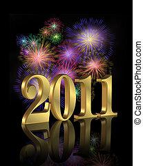 nuovo, fireworks, 2011, anno