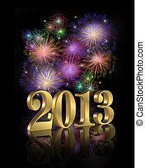 nuovo, fireworks, 2013, anno