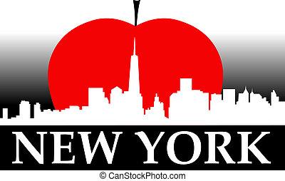 nuovo, mela, grande, york
