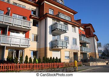 nuovo, moderno, appartamenti