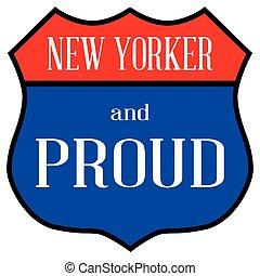 nuovo, orgoglioso, yorker