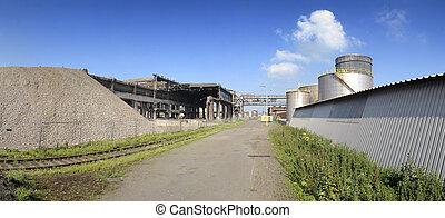 nuovo, rovina, industriale, fabbrica