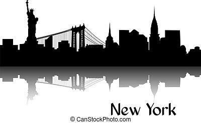 nuovo, silhouette, york
