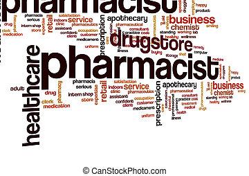 nuvola, farmacista, parola