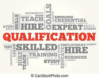 nuvola, parola, educazione, qualificazione